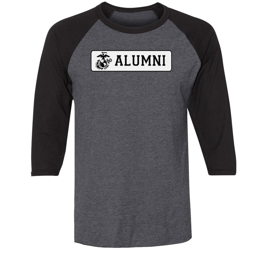 Alumni Premium Blend Three-Quarter Sleeve Raglan Baseball T-Shirt