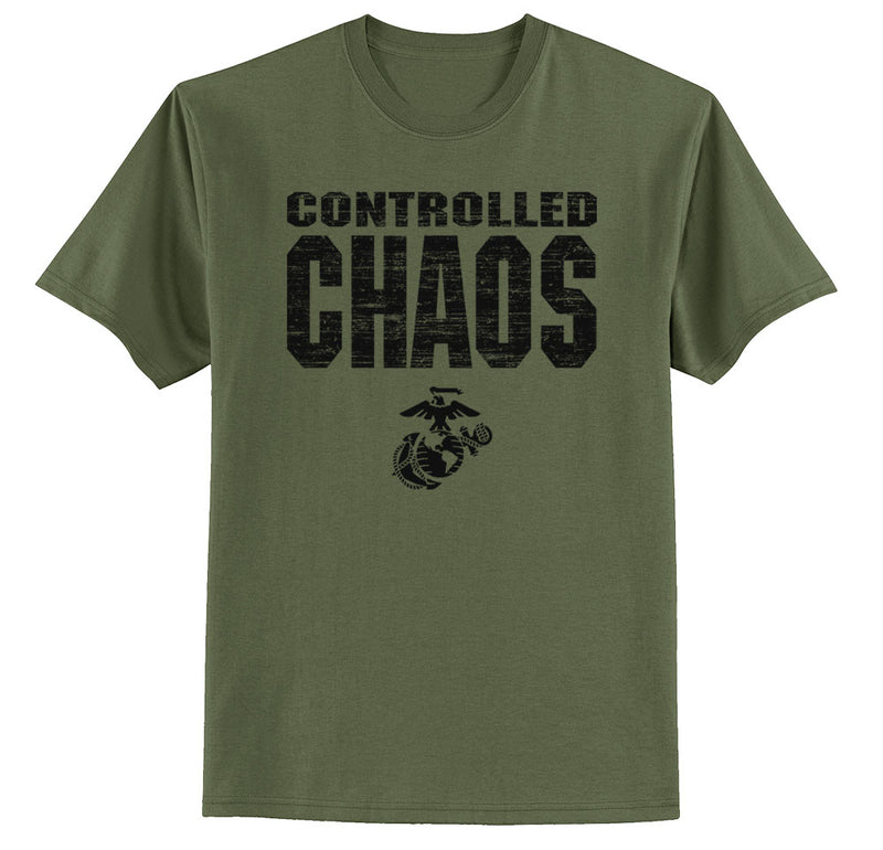 Controlled Chaos Marines T-shirt