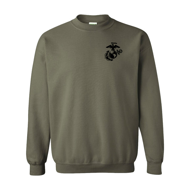 Black EGA Chest Seal Sweatshirt