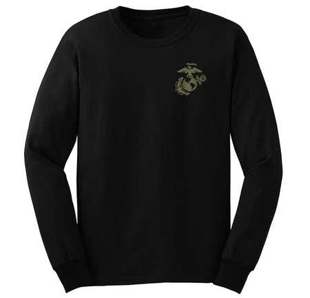 CLOSEOUT EGA Chest Seal OD Green Long Sleeve Tee