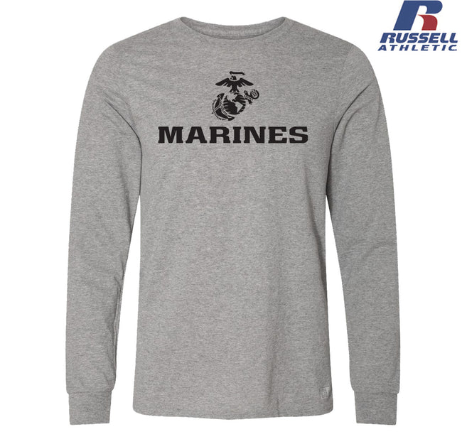 Russell Athletic EGA Marines Long Sleeve T-Shirt
