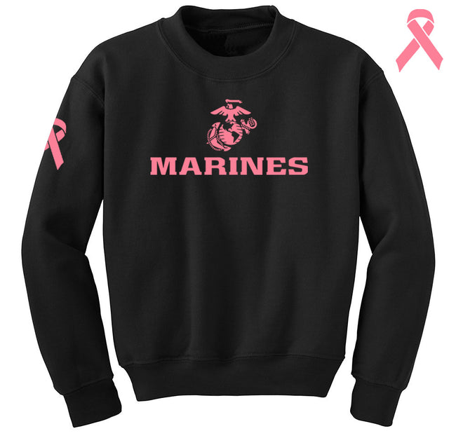 Marines Breast Cancer Awareness Sweatshirt