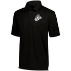 Marines Screen Printed Augusta DRI-FIT Vital Polo