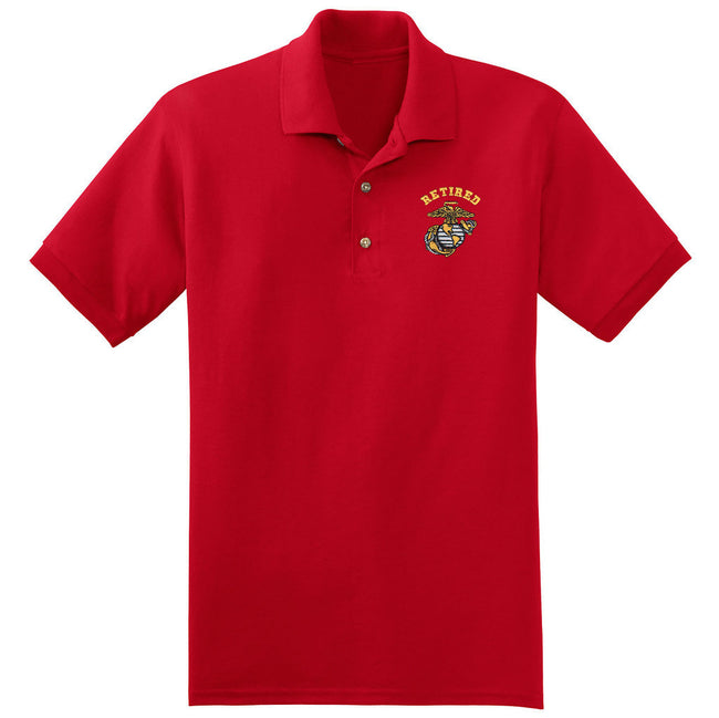 Retired Embroidered Polo