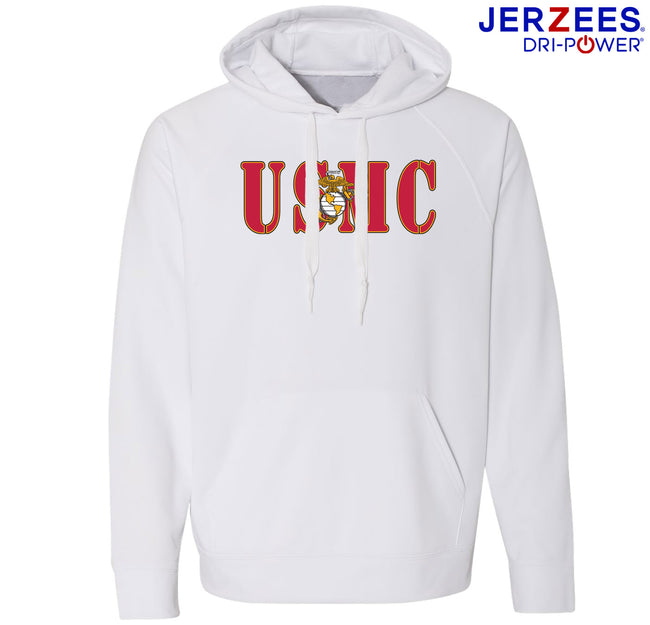 USMC Dri-Power® Sport Hooded Sweatshirt