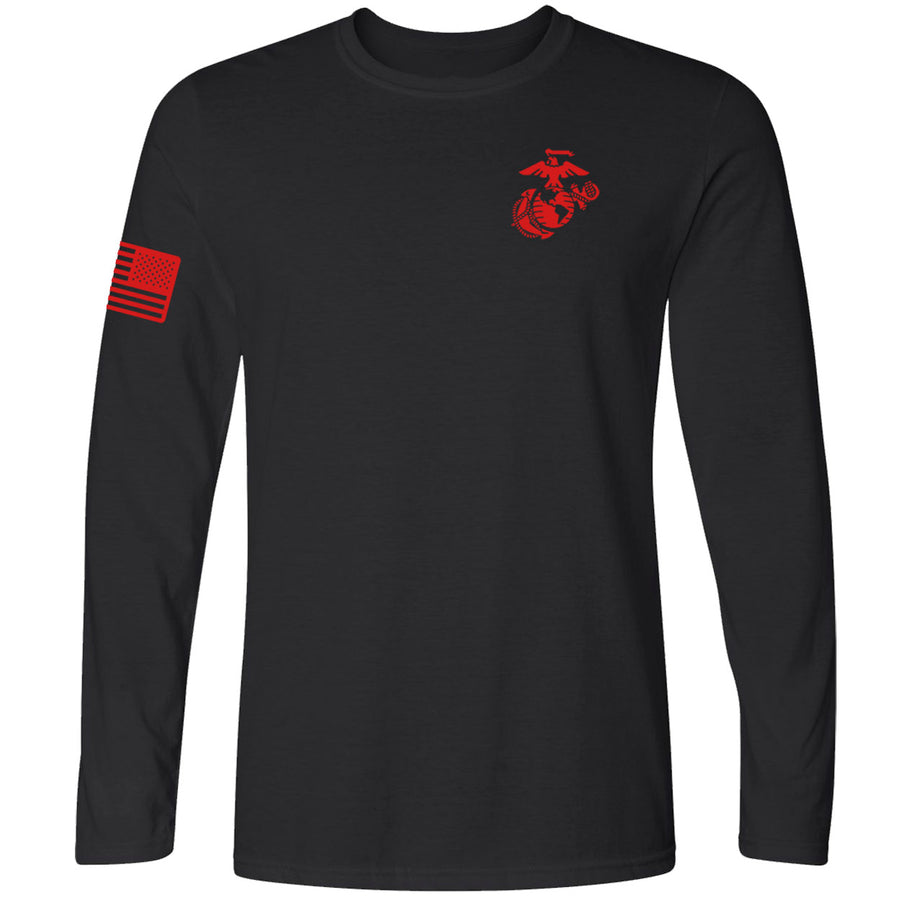 Limited Edition Red EGA & Flag Long Sleeve