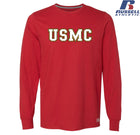 Russell Athletic USMC Block Long Sleeve T-Shirt