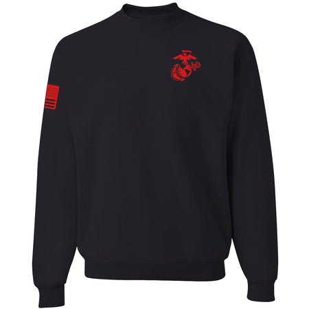 Limited Edition Red EGA & Flag Sweatshirt