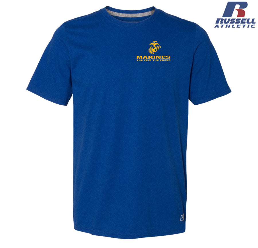 Russell Athletic The Few The Proud Chest Seal T-Shirt