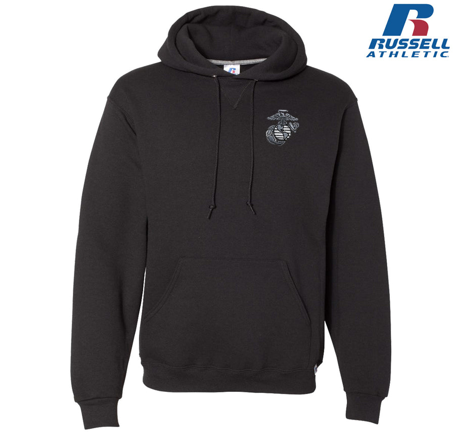 Aluminum EGA Embroidered Russell Athletic Dri Power Hoodie