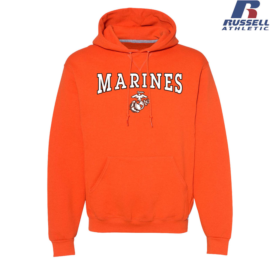 Russell Athletic Marines Halloween Dri Power Hoodie