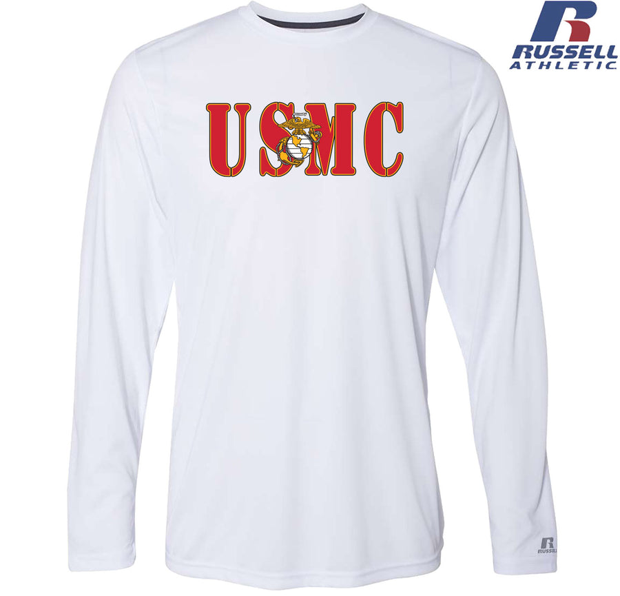 Russell USMC Core Performance Long Sleeve Dri-FIT