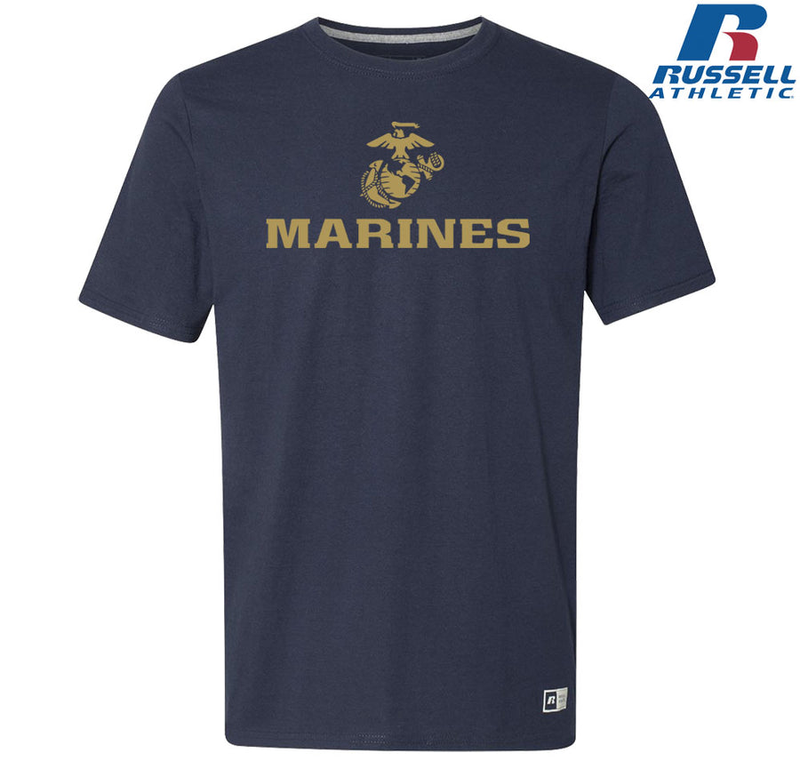 Russell Athletic Vegas Gold Marines T-Shirt