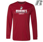 Russell Athletic Core Performance Marines Long Sleeve T-Shirt