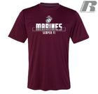 Russell Athletic Core Performance Marines Short Sleeve T-Shirt