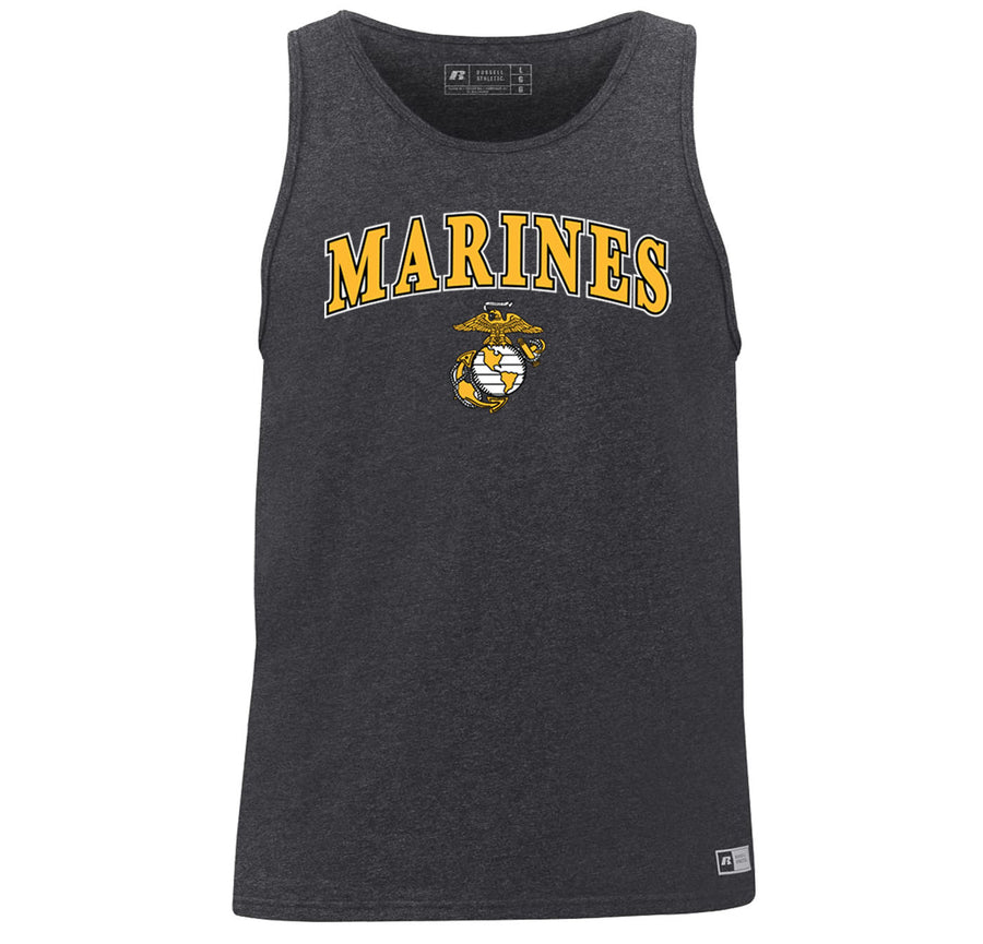 Russell Athletic Gold Marines Tank