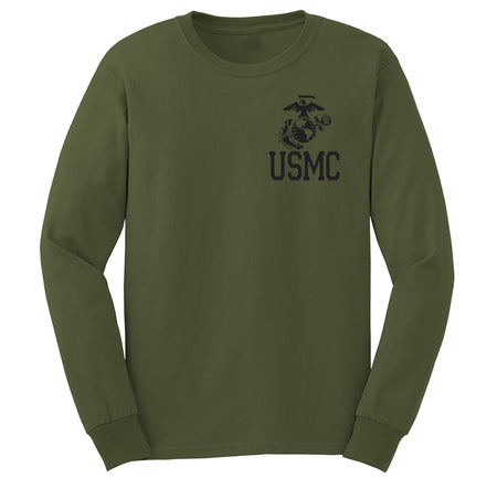 MARINE PT EGA Chest Seal Long Sleeve T-shirt