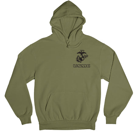 EGA Over USMC Chest Seal Marine Hoodie
