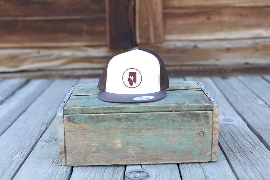 Classic Trucker w/ White Front Panel - Logo