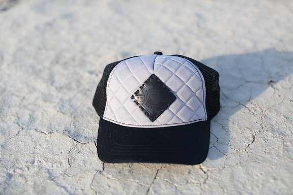 Quilted Trucker (w/ Leather Patch)