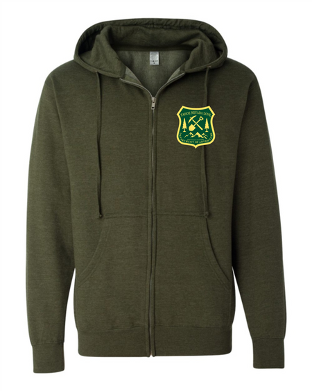 DEPT. OF ADVENTURE Full-Zip Hoodie