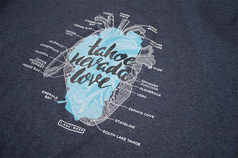 Ladies Anatomical Heart Long-Sleeve