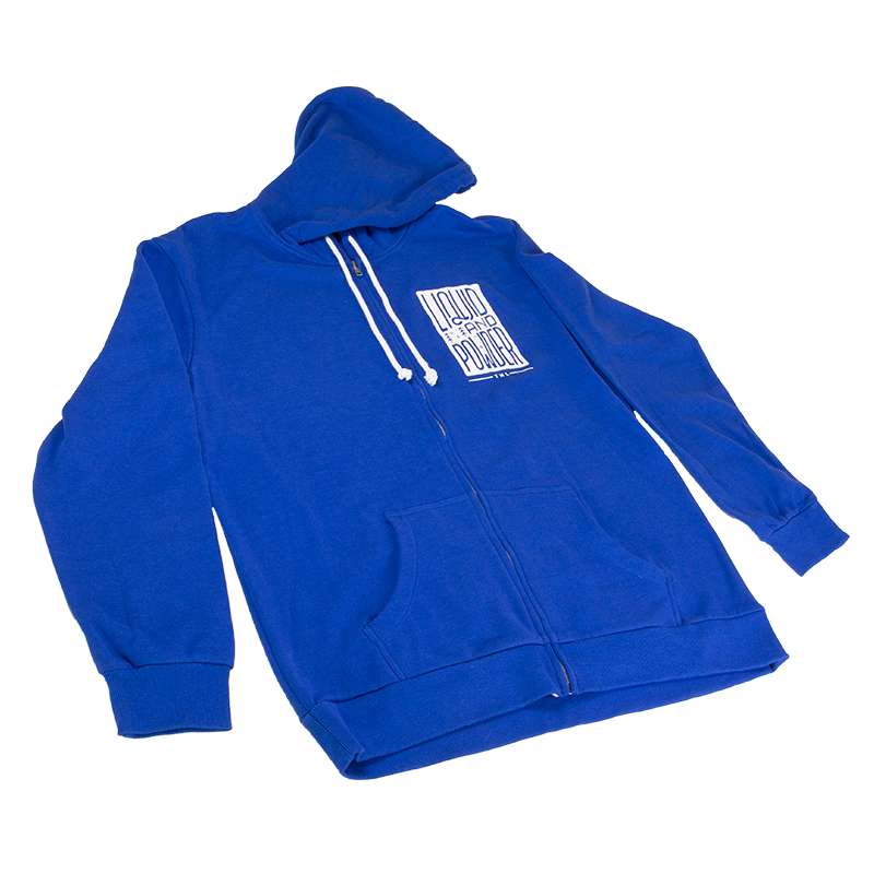 Liquid & Powder Full-Zip Hoodie