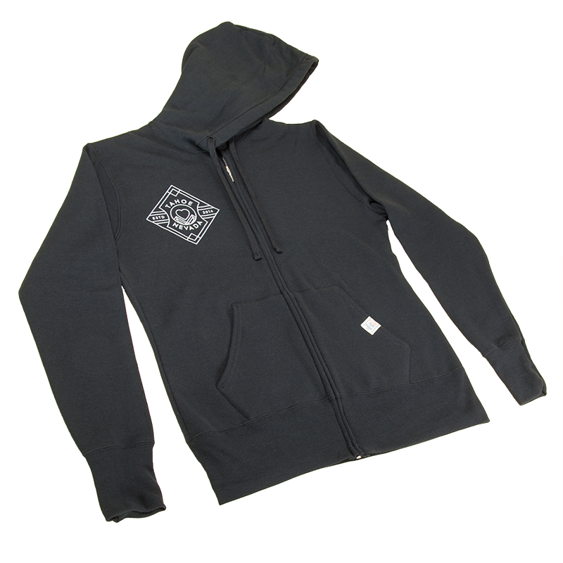 Ladies DIAMOND BADGE Full-Zip Hoodie