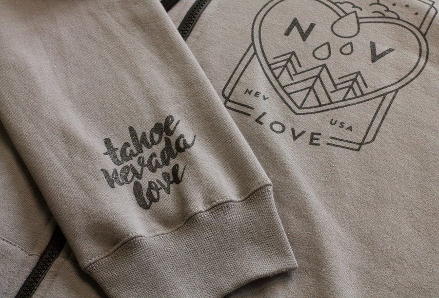 Heart Drop Full-Zip Hoodie