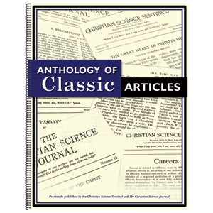 Anthology of Classic Articles I Christian Science G750B50666EN
