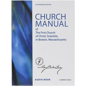 Manual of The Mother Church by Mary Baker Eddy (Audiobook CD)