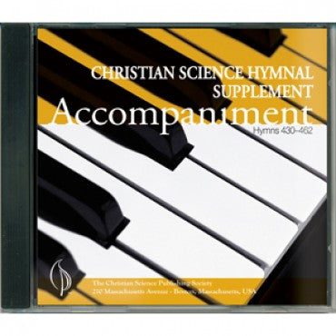 CD: Christian Science Hymnal Supplement (430-462) Piano Accompaniment
