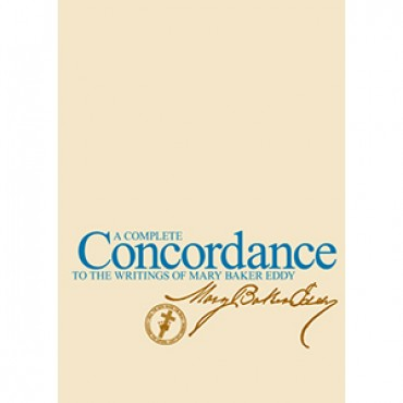 Complete Concordance to the Writings of Mary Baker Eddy, Paper back