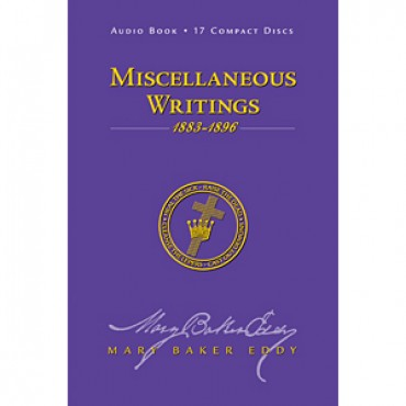 Miscellaneous Writings 1883-1896, Audio CDs