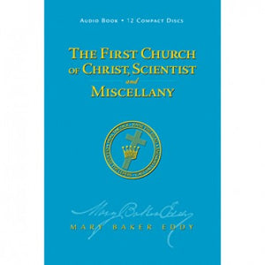 The First Church of Christ, Scientist, and Miscellany, Audio CDs