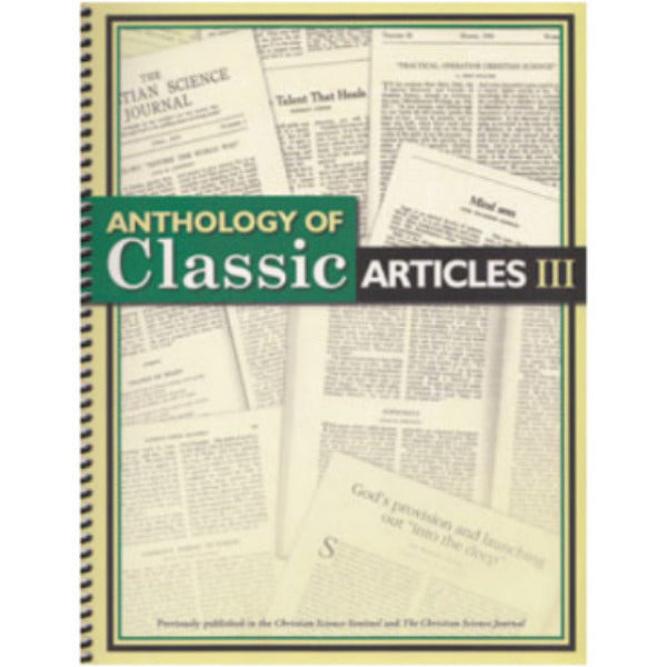 Anthology of Classic Articles III G750B51411EN