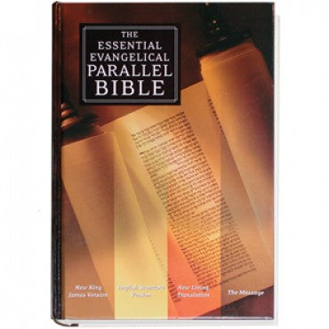 Bible Essential Evangelical Parallel New King James Version and English Standard Version, New Living Translation G925B50620EN