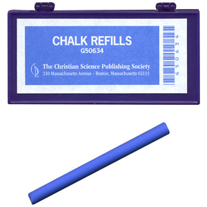 Blue Marking Chalk lesson christian science G600G50634EN