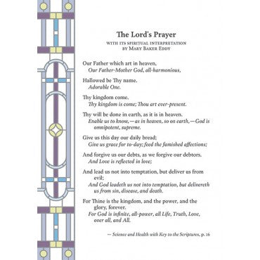 Card: Lord's Prayer note card and envelope P150G34557EN