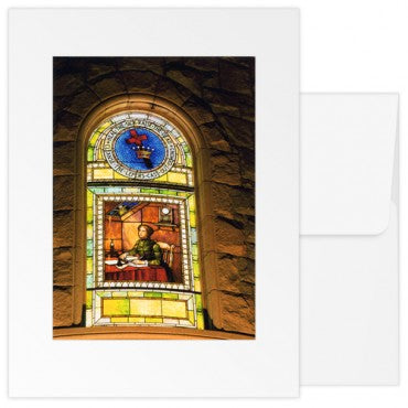 greetings Cards: The Mother Church Original Mother's Room Window