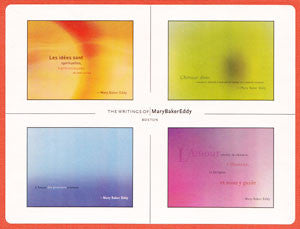 Box of Cards: Mary Baker Eddy Quotes (French)