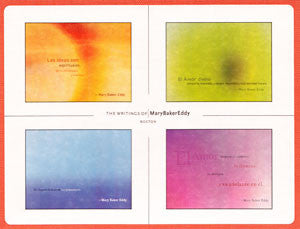 Box of Cards: Mary Baker Eddy Quotes (Spanish)
