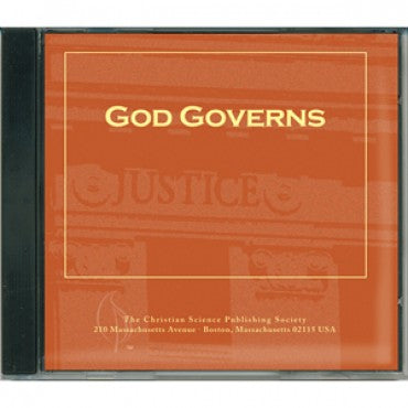 CD: God Governs - Audio Edition