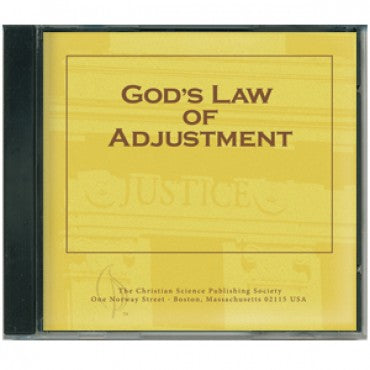 CD: God's Law of Adjustment - Audio Edition