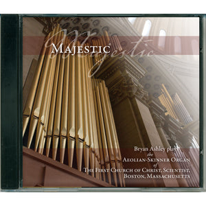 CD: Majestic - Organ music from The Mother Church
