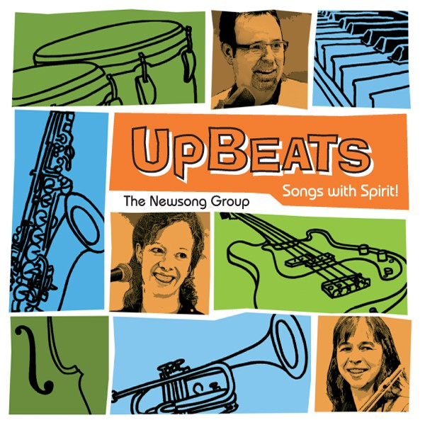 CD: Upbeats - Songs with Spirit - The NewSong Group