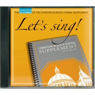 CD: Let's Sing! Hymnal Supplement voice & piano accompaniment (430-462)