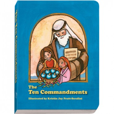 children's book: The Ten 10 Commandments Moses