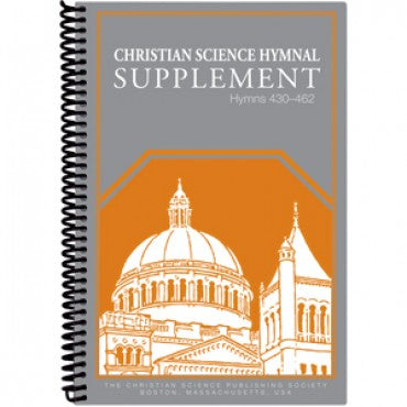 Christian Science Hymnal Supplement (430-462) Spiral- Organist Edition