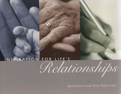 inspiriations for life's relationships English version quotes by Mary Baker Eddy